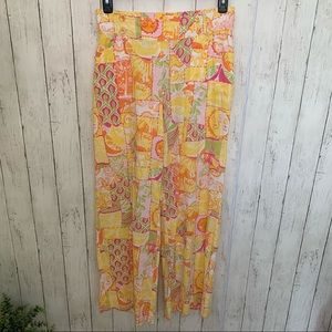 Lilly Pulitzer Sun Patch Pants Small